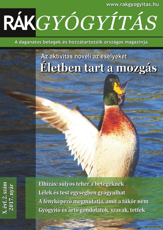 Rákgyógyítás Magazin 2017. nyár
